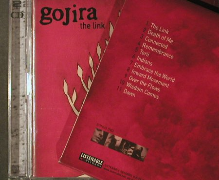 Gojira: The Link, Boxed, Listenable Rec.(), EU,  - CD/DVD - 95955 - 12,50 Euro