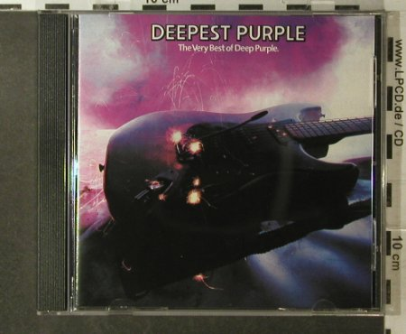 Deep Purple: Deepest Purple-The Very Best, Harvest(CDP 7 46032 2), D, 1980 - CD - 96130 - 10,00 Euro
