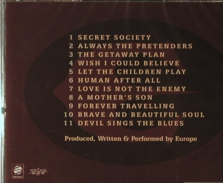 Europe: Secret Society, FS-New, Hell & Back(TT00672), EU, 2006 - CD - 96275 - 10,00 Euro