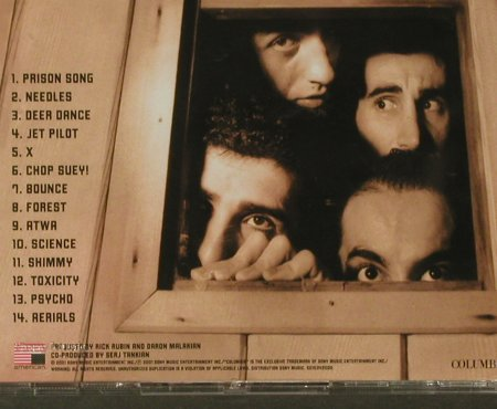 System Of A Down: Toxicity, American(COL 501534 2), EU, 2001 - CD - 96349 - 10,00 Euro