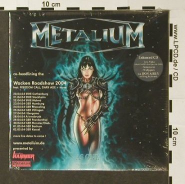 Metalium: AS One-Chapter Four,PromoDigi+video, Massacre(), EU,FS-New, 2003 - CD - 96359 - 5,00 Euro