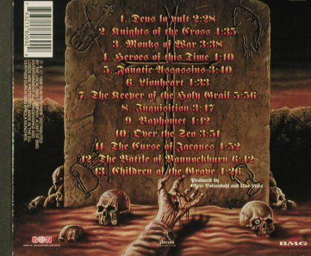 Grave Digger: Knights Of The Cross, Digi, 13 Tr., GUN(162), EEC, 1998 - CD - 96414 - 10,00 Euro