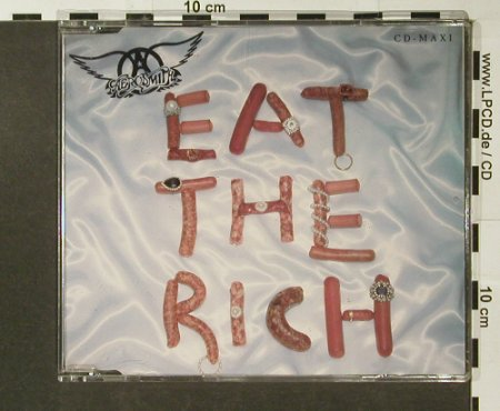 Aerosmith: Eat The Rich+3, Geffen(GED21831), UK, 1993 - CD5inch - 96585 - 3,00 Euro