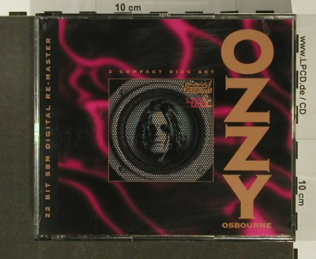 Osbourne,Ozzy: Live And Loud, 22 Bit SBM, Epic(481676 2), A, 1995 - 2CD - 96624 - 11,50 Euro