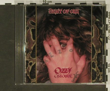 Osbourne,Ozzy: Best of Ozz, CBS/Sony(25DP 5396), J, 1989 - CD - 96807 - 15,00 Euro
