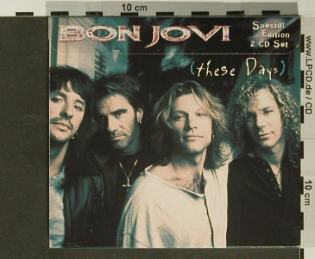 Bon Jovi: These Days, 14Tr.+5Tr,sp.Ed., Digi, PolyGram(532 644-2), , 1996 - 2CD - 96811 - 14,00 Euro