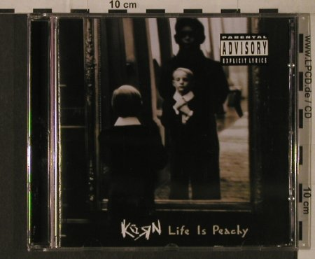 Korn: Life Is Peachy, Epic(485369 6), A, 1996 - CD - 97132 - 7,50 Euro