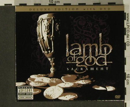 Lamb of God: Sacrament, Deluxe Edition, Sony(), EU, 2006 - CD/DVD - 97259 - 12,50 Euro