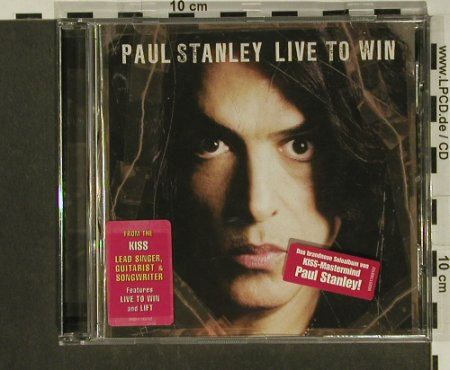 Stanley,Paul: Live to Win, Paul Stanley Music(), EU, 2006 - CD - 97264 - 10,00 Euro