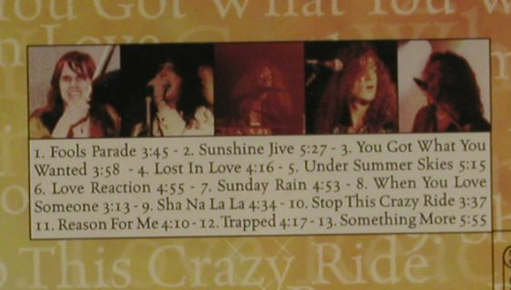 Sunshine Jive: Same, MTM(), D, 98 - CD - 97361 - 5,00 Euro