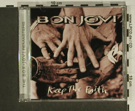 Bon Jovi: Keep The Faith, 12 Tr. +Video, Mercury(538 034-2), D, 1992 - CD - 97399 - 7,50 Euro