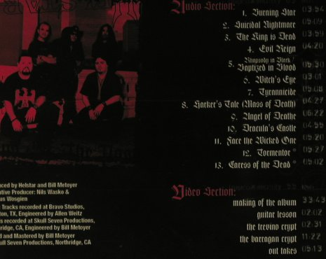 Helstar: Sins of the Past, FS-New, AFM(196-2), EU, 2007 - CD - 97715 - 10,00 Euro