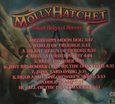 Molly Hatchet: Silent Reign Of Heroes, SPV(), D, 1998 - CD - 97766 - 7,50 Euro