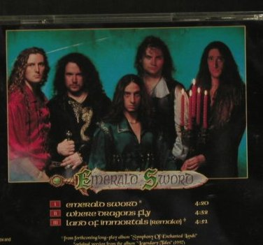 Rhapsody: Emerald Sword+2, Limb Music(9808-005), D, 1998 - Shape - 98001 - 7,50 Euro