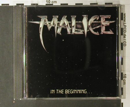 Malice: In The Beginning/License To Kill, (RC 1040), , 1993 - CD - 98017 - 20,00 Euro