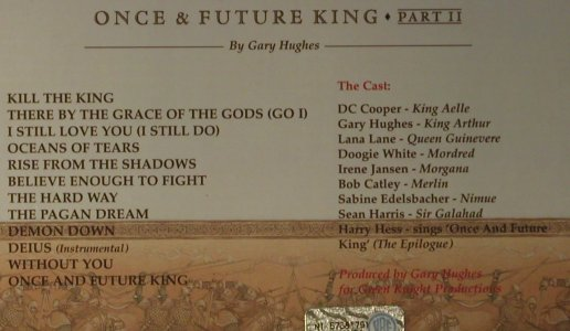 Once And Future King: Part II, Digi, Frontiers(FR CD 162D), I, 2003 - CD - 98718 - 7,50 Euro