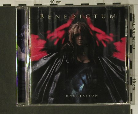 Benedictum: Uncreation, Locomotive(LM 177), EU, 2006 - CD - 98736 - 10,00 Euro