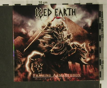 Iced Earth: Framing Armageddon, Digi, Steamhammer(98182), D, 2007 - CD - 98737 - 10,00 Euro