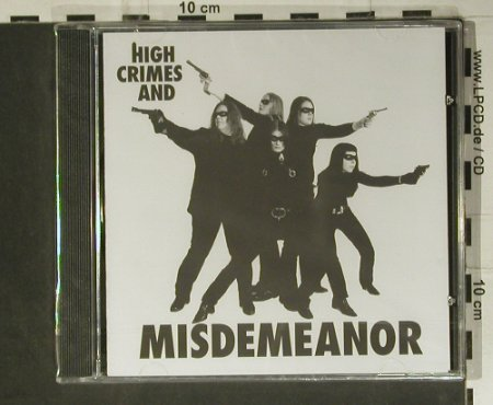Misdemeanor of Sista: High Crimes And Misdemeanor, FS-New, Muse Entity(MERCD005), , 2004 - CD - 98805 - 7,50 Euro