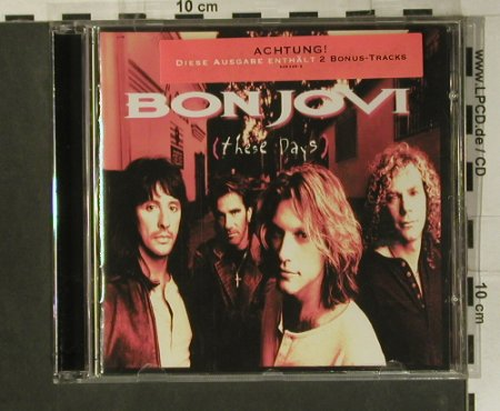 Bon Jovi: These Days, 14Tr., Mercury(528 248-2), , 1995 - CD - 99013 - 7,50 Euro