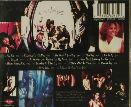 Bon Jovi: These Days,remaster,14Tr.+video, Mercury(538 036-2), D, 1995 - CD - 99015 - 10,00 Euro