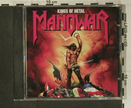 Manowar: Kings Of Metal, Atlantic(), D, 1988 - CD - 99105 - 10,00 Euro