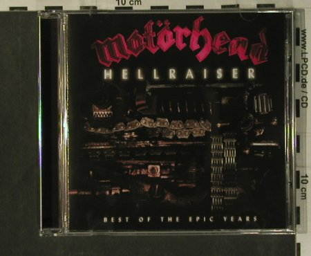 Motörhead: Hellraiser - Best Of The Epic Years, Sony(510825 2), EU, 2003 - CD - 99246 - 10,00 Euro