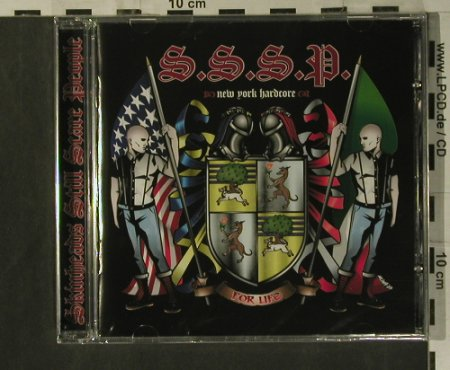 S.S.S.P: For Life, FS-New, Swell Creek(SWSH 008), EU, 2008 - CD - 99328 - 10,00 Euro