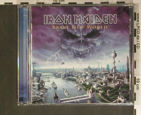 Iron Maiden: Brave New World, EMI(), EU, 2000 - CD - 99382 - 10,00 Euro