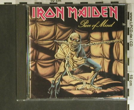 Iron Maiden: Piece Of Mind, EMI(CDP 7 46363 2), UK, 1983 - CD - 99384 - 10,00 Euro