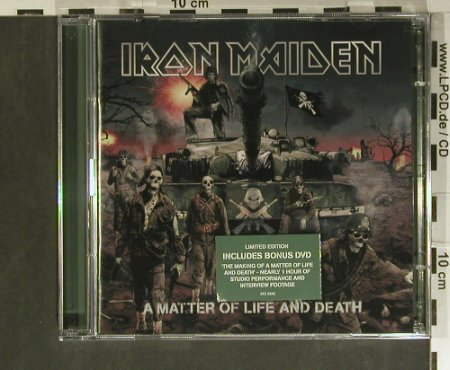 Iron Maiden: A Matter of Life and Death+BonusDVD, EMI(0946 372324 2 2), EU, 2006 - CD/DVD - 99385 - 12,50 Euro