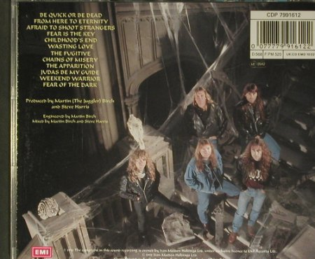 Iron Maiden: Fear Of The Dark, EMI(), NL, 1992 - CD - 99391 - 10,00 Euro