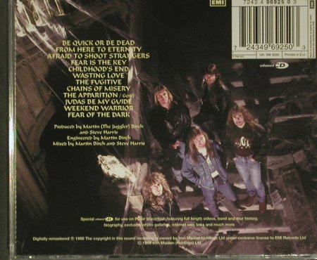 Iron Maiden: Fear Of The Dark, MultiMedia, EMI(7243 4 96925 03), EU, 1998 - CD - 99393 - 10,00 Euro