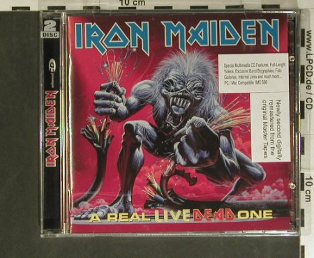 Iron Maiden: A Real Live Dead One, EMI(4 96926 0), EU, 1998 - 2CD - 99394 - 12,50 Euro