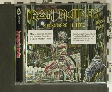 Iron Maiden: Somewhere In Time'86, EMI(7243 496924 04), EU, 1998 - CD - 99396 - 10,00 Euro