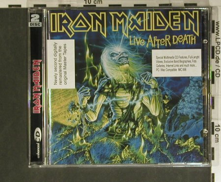 "Iron Maiden: Live After Death'85+CD5""MultiMedia, EMI(7243 496921 07), EU, 1998 - 2CD - 99399 - 10,00 Euro"