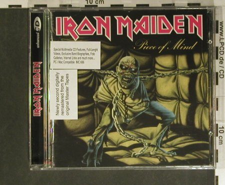 Iron Maiden: Piece Of Mind'83, MultiMedia, EMI(4 96919 02), NL, 1998 - CD - 99400 - 10,00 Euro
