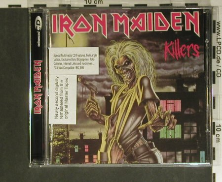 Iron Maiden: Killers'81, MultiMedia, EMI(4 96917), D, 1998 - CD - 99401 - 10,00 Euro