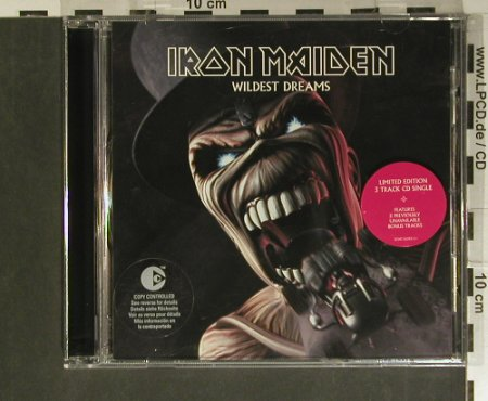 Iron Maiden: Wildest Dreams+2, Lim.Ed., IronMaidenHolding(07243 552931 2), EU, 2003 - CD5inch - 99403 - 5,00 Euro