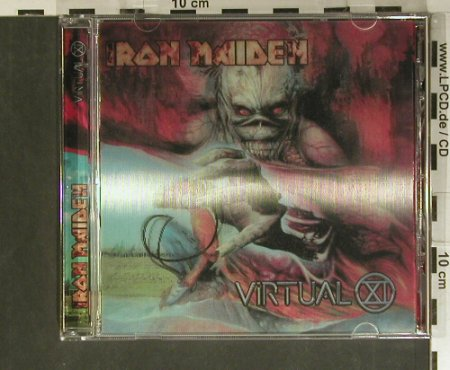 Iron Maiden: Virtual, XI-LimEd. Holo, EMI(), EU, 1998 - CDgx - 99406 - 14,00 Euro