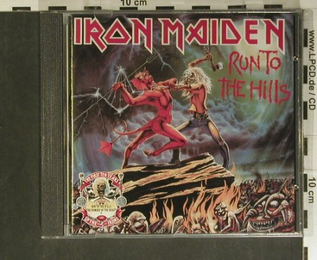 Iron Maiden: Run To The Hills'82, 5 Tr.EP, EMI(CDIRN 4), UK, 1990 - CD - 99413 - 12,50 Euro