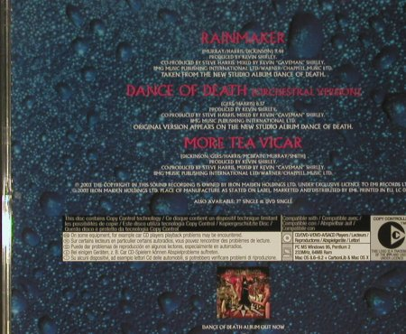 Iron Maiden: Rainmaker +2, Iron Maiden Holdings(), EU, 2003 - CD5inch - 99414 - 5,00 Euro