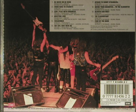 Iron Maiden: A Real Live One, EMI(), UK, 1993 - CD - 99417 - 10,00 Euro