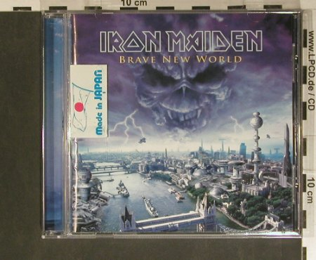 Iron Maiden: Brave New World, EMI(TOCP-65418), J, 2000 - CD - 99418 - 12,50 Euro