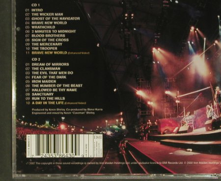 Iron Maiden: Rock In Rio, EMI(5 38643 0), EU, 2002 - 2CD - 99422 - 12,50 Euro