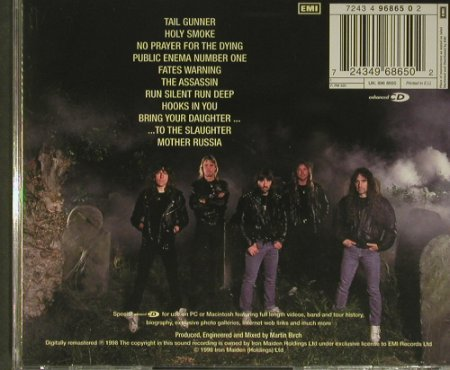 Iron Maiden: No Prayer For The Dying'90, EMI(4 96865 0), EU, 1998 - CD - 99423 - 10,00 Euro