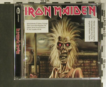Iron Maiden: Same(80), EMI(4 96916 0), D, 1998 - CD - 99424 - 10,00 Euro