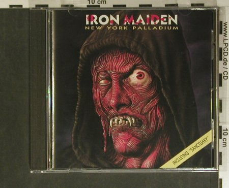 Iron Maiden: New York Palladium, Golden Stars/On The Road(GSCD 1082), EEC, 1990 - CD - 99426 - 20,00 Euro