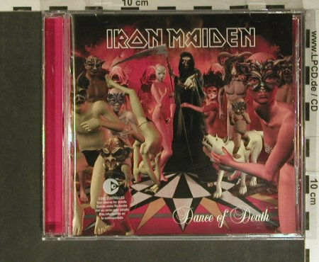 Iron Maiden: Dance of Death, EMI(), EU, 2003 - CD - 99428 - 10,00 Euro