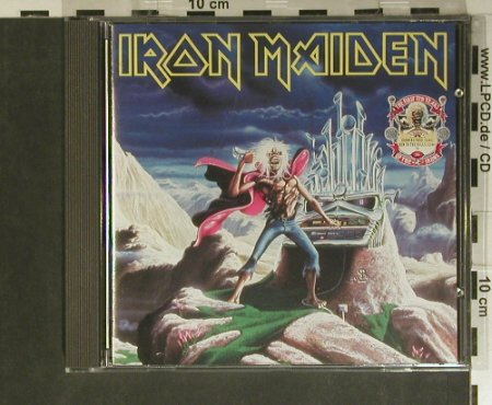 Iron Maiden: Running Free / Run To The Hills,EP, EMI(CDIRN 7), UK,7Tr., 1990 - CD - 99430 - 12,50 Euro